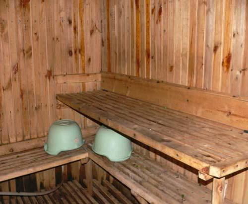 Парилка в русской бане своими руками