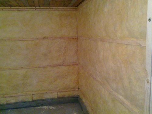 Утепление бани из керамзитобетонных блоков своими руками