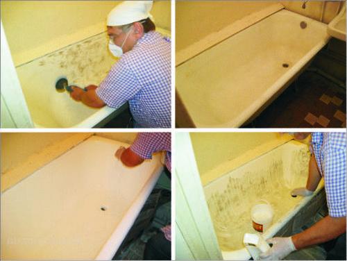 Как обновить ванну в домашних условиях самостоятельно