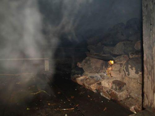 Что делать если дымит печь в бане