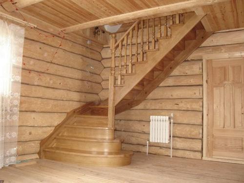 Лестница на мансарду фото