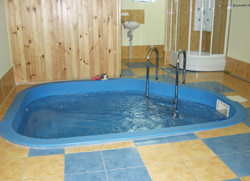 Как сделать баня и бассейн
