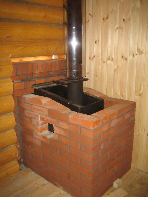 Установить железную печь в бане