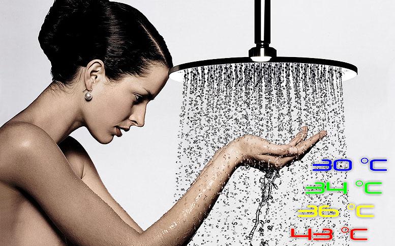 температура воды при купании°C