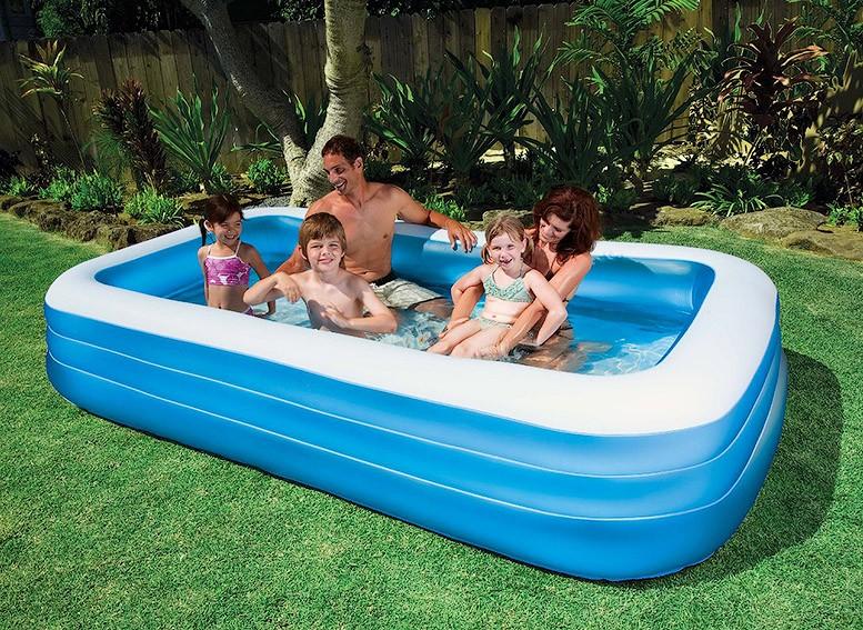 Надувной бассейн для ребёнка и взрослого