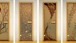 Двери в баню и сауну из различных материалов