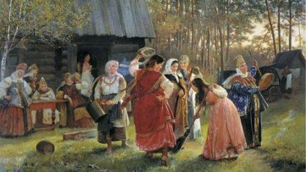 Древние традиции и обычаи в бане