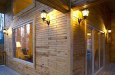 Деревянный кирпич – необычный материал для строительства бань