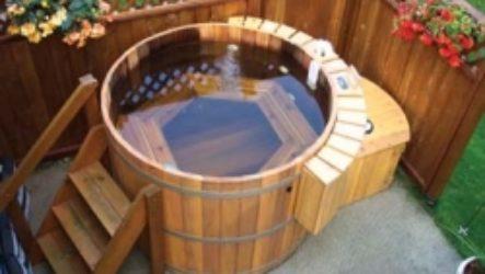 Японская баня офуро: особенности строительства