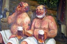 Пиво в бане – пить или не пить