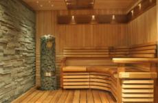 Устройство перегородок в бане