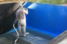 Гидроизоляция бассейна: методы, особенности, материалы