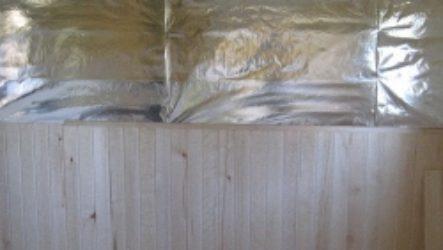 Алюминиевая фольга для бани