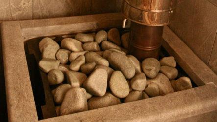 Лучшие натуральные камни для бани и сауны