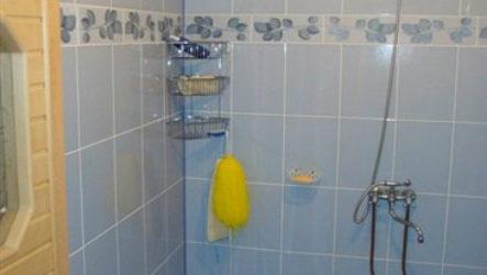 Как сделать душевую в бане