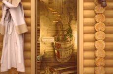 Двери в парилку: требования, материалы, особенности установки