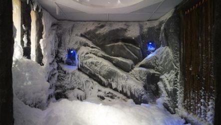 Снежная комната – ноу-хау для бани