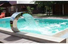 Как выбрать декоративный водопад для бассейна? Обзор производителей, советы и рекомендации