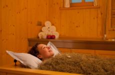 Применении сена в бане или сенная комната