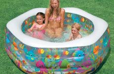 Надувной бассейн для дачи и его преимущества