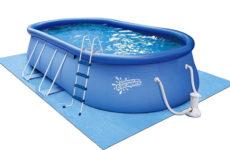 Выбираем бассейн: надувной или пластиковый?