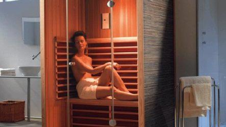 Сауна в квартире – реальность. Обзор инфракрасной сауны