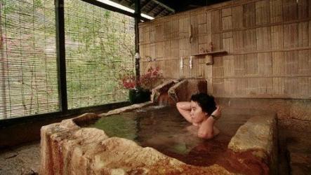 Культура японской бани Сэнто