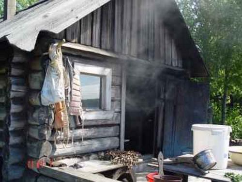 Выпуск угарного газа перед парением
