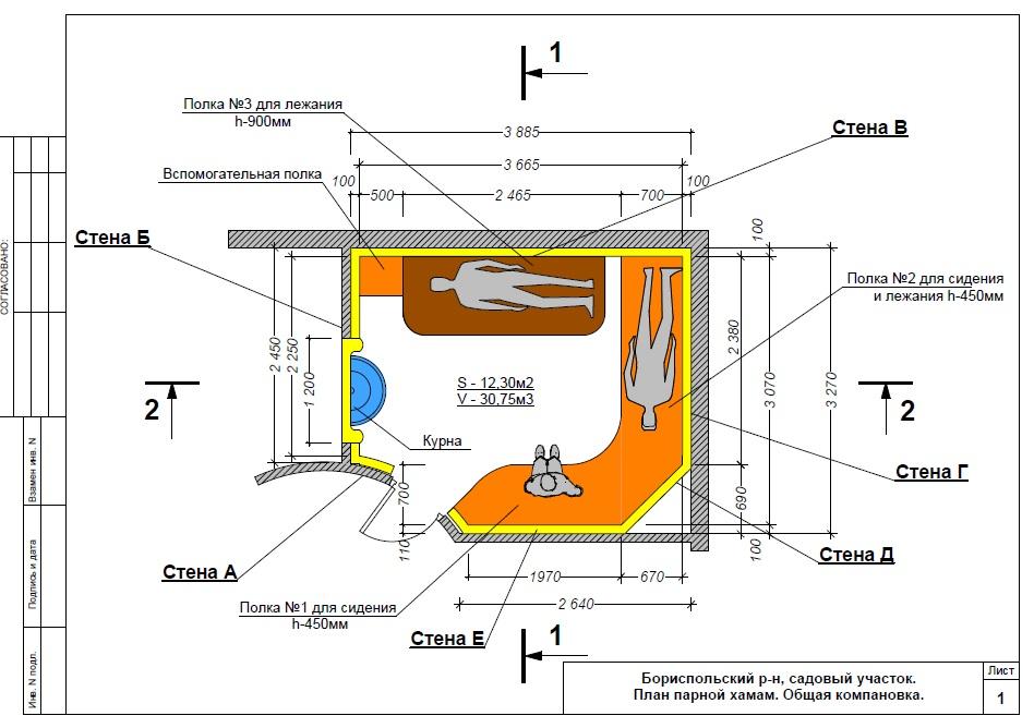 Как построить баню хамам: вентиляция, проект, чертежи