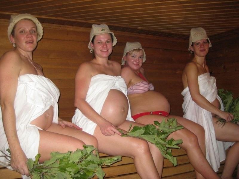 Баня после родов