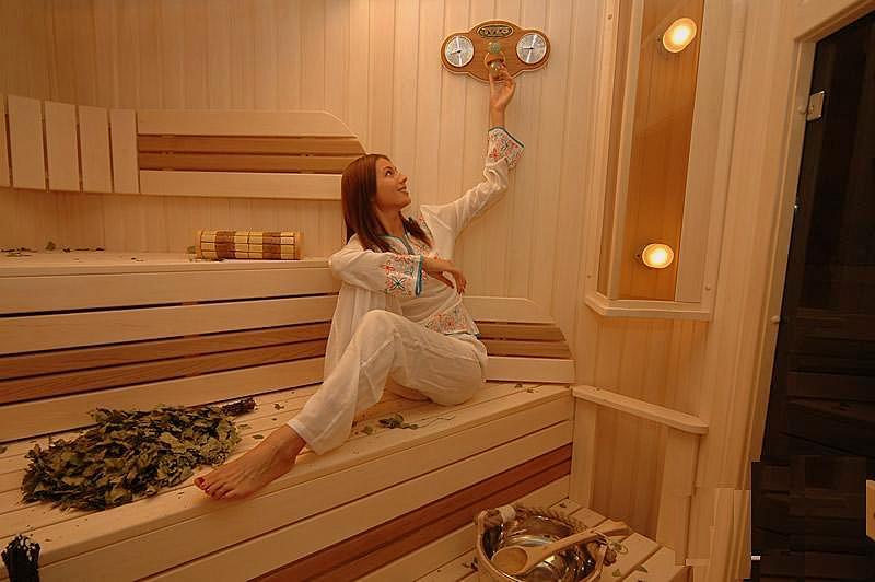 Температура и влажность в бане