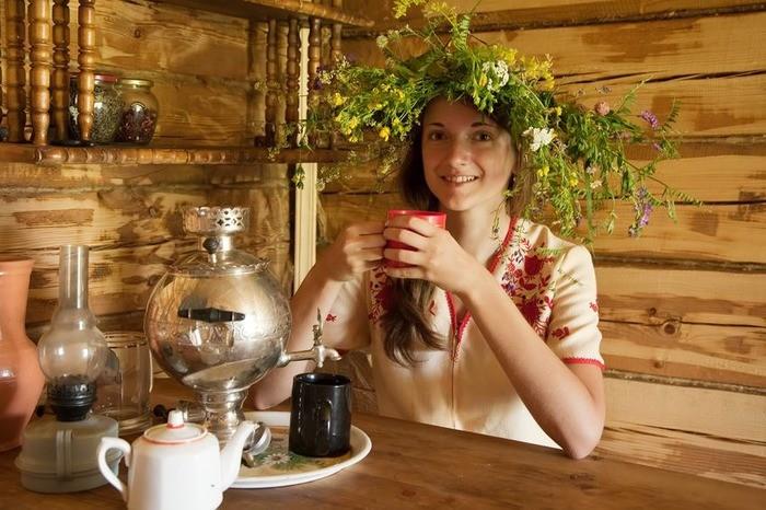 Какой чай пить после бани?