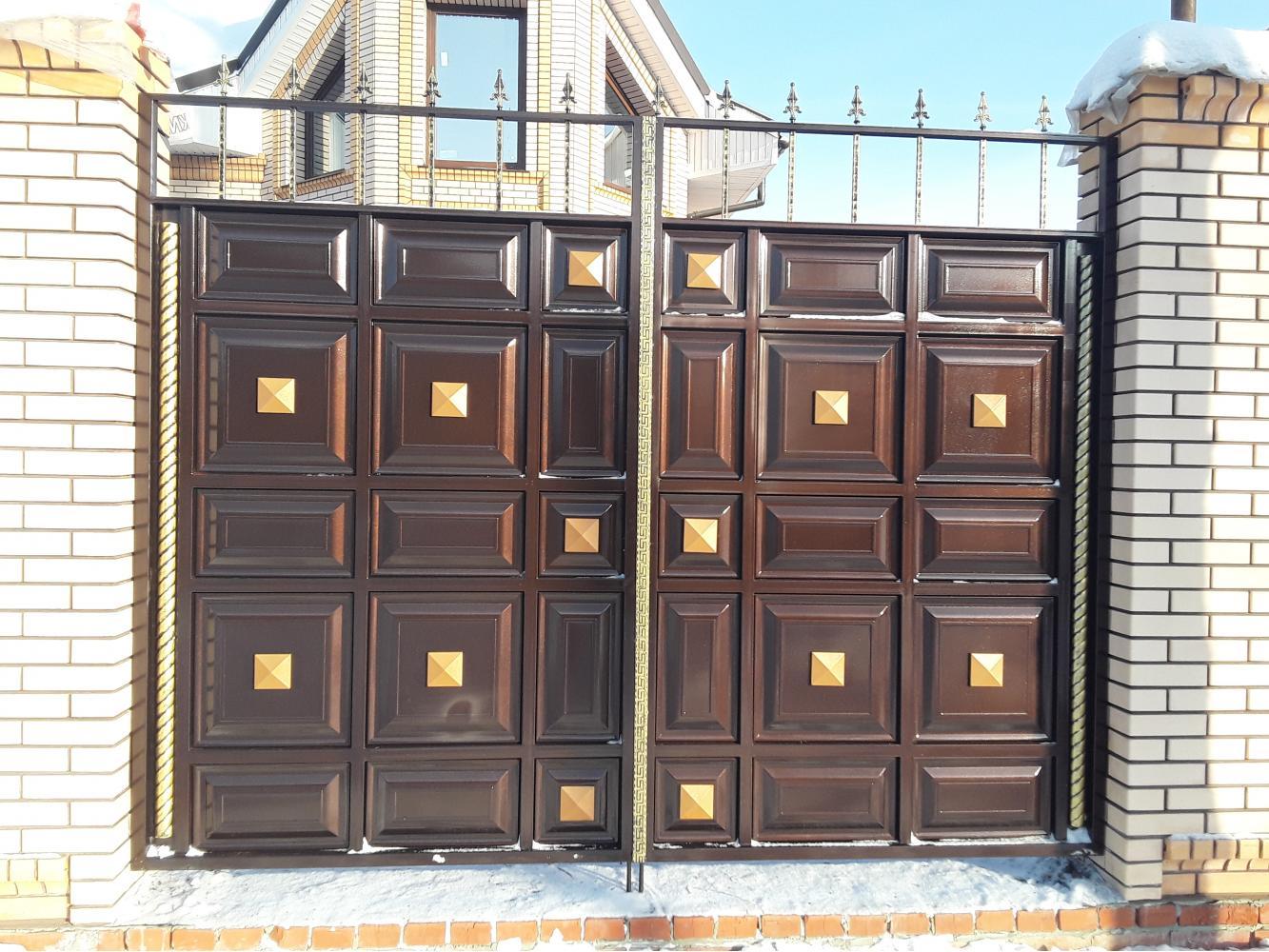 Что такое филенчатые ворота?