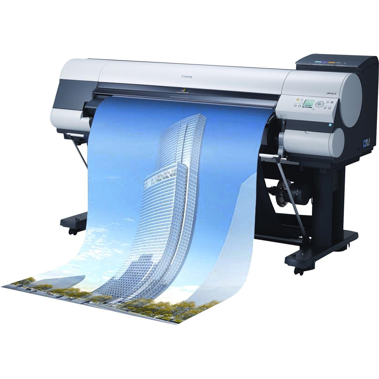 Как работают струйные плоттеры Canon?