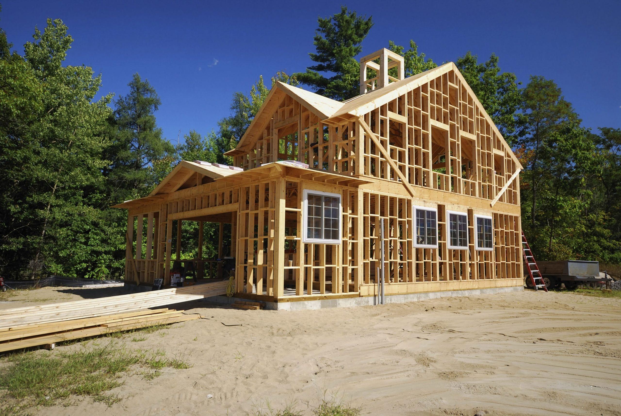 Как строят каркасные дома?