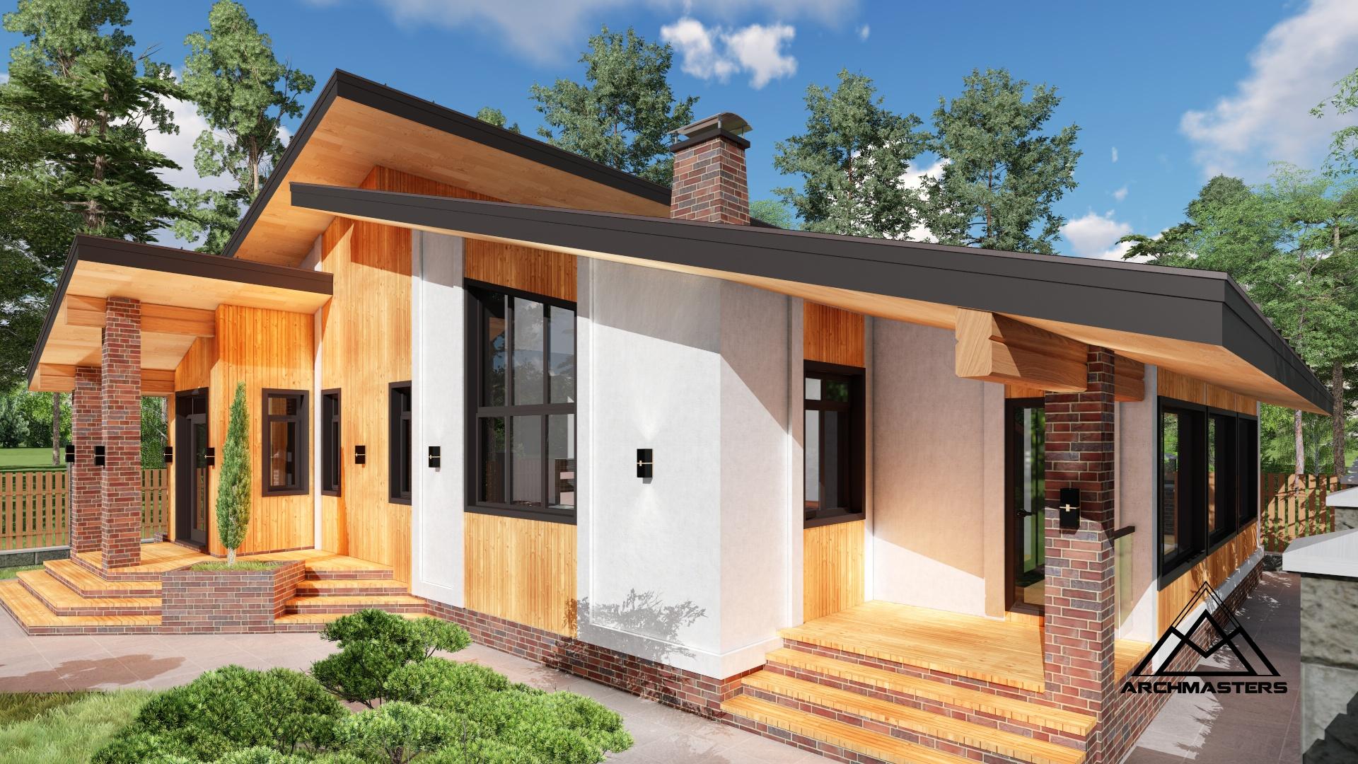Проект одноэтажного дома: что в него входит?